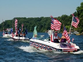 4th of July at Lake Gaston